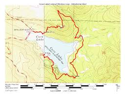 cove lake of the ozarks map cove lake lookout window loop ozark forest 4 mi arklahoma hiker