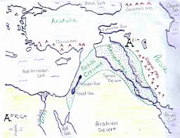 Map Of Middle East Blank by Ancient Near East Map