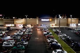 led parking lot lights at walmart walmart and flickr