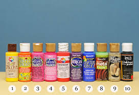 ben franklin crafts and frame shop acrylic paints which one