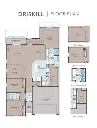 gehan floor plans driskill home plan by gehan homes in gateway parks landmark