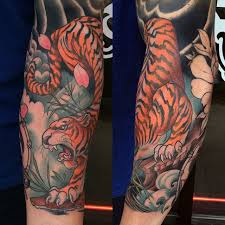 tiger sleeve ideas for best tattoos