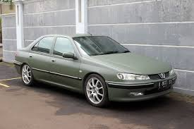 peugeot 406 sport peugeot 406 matte army green vinyl wrap peugeot 406 army green