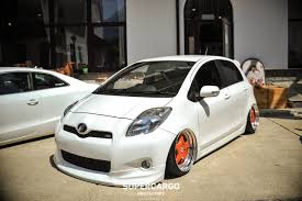 stanced toyota toyota vitz rs stanced