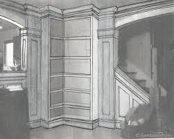 build your own corner bookshelves