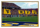 WEST VIRGINIA UNIVERSITY Sports Photographs