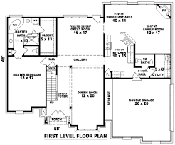 european style house plan 4 beds 2 50 baths 3400 sq ft plan 81 1012