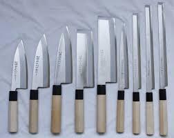 types of japanese kitchen knives 15 decoration with japanese kitchen knives plain