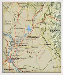 Baghdad Map Musings On Iraq Iraq U0027s Diyala Province An Insurgent Stronghold