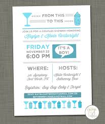baby shower invite cocktail baby shower from this to this beer