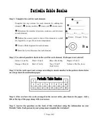 periodic table basics cards answers flower basics worksheet answers worksheets for all download and
