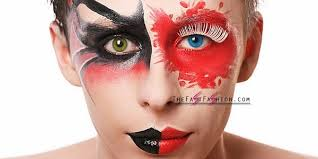 scary halloween contact lenses and makeup ideas the fast fashion