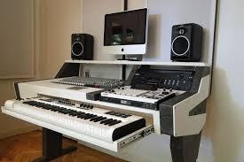 small music studio interior design small studio desk recording table music intended