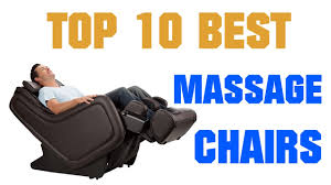 Top Massage Chairs 10 Best Massage Chairs 2017 Reviews Youtube