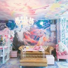 this unicorn cafe is a lisa frank lover s dream come true brit co practically every nook and cranny is bursting with unicorn paraphernalia