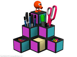 Desk Organizer Ideas Q Bert Desk Organizer Dave S Geeky Ideas