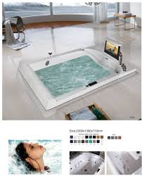 oasis recessed massage bathtub