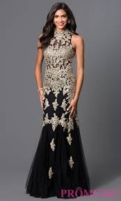 formal elizabeth k embroidered lace dress promgirl