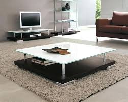 large square modern coffee table square living room table coffee tables piece living room table sets