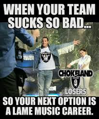 Raiders Suck Memes - oakland raiders suck home facebook