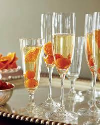 holiday champagne cocktails martha stewart
