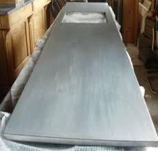 Slipcast Zinc Black Granite Countertops by Zinc Countertops Guest Post By Joe Cain Of Mio Metals Ollie U0027s