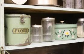 vintage kitchen canisters vintage kitchen canisters lovetoknow