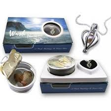 pearl wish necklace images Sterling silver heart cage necklace wish pearl in oyster kit with jpg