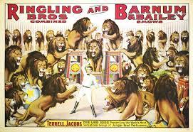 Barnes And Bailey Circus Ringling Bros And Barnum And Bailey Circus Terrell Jacobs Fsu
