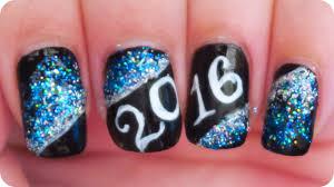 happy new year 2016 nail art youtube