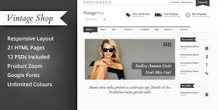 23 best ecommerce shopping html5 css3 templates to sell online