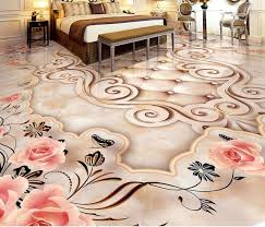 custom vinyl floor tiles onyx marble photo wallpaper bedroom 3d