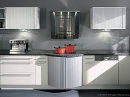 A Contemporary White Kitchen Manufactured By ALNO AG With - Contemporary white kitchen cabinets