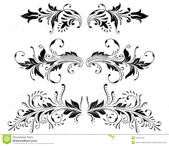 ornament vector elements stock vector illustration of curl 20044788