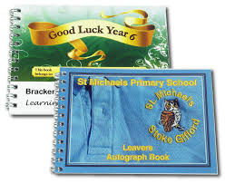 personalized autograph books customized school autograph books ideal school leavers gift from