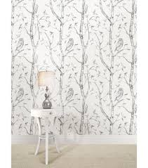 Peel And Stick Wallpaper Reviews by Wallpops Nuwallpaper Gray Woods Peel And Stick Wallpaper Joann