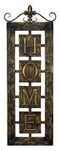 articles with metal hanging letters wall decor tag initial wall