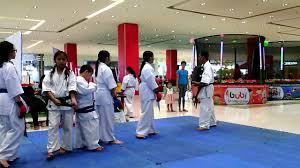 lyka kyla and lyka kyokushin karate training youtube