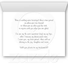 will you be my bridesmaid poem 30 best invites images on bridesmaid poems bridesmaid