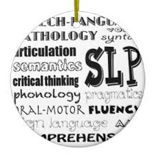 speech language pathology ornaments keepsake ornaments zazzle