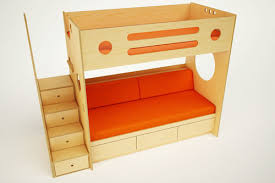 marino bunk over daybed with stairs u2014 casa kids
