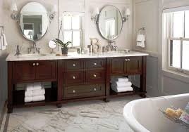 Bathroom Frameless Mirrors Add Elegance In Your Bathroom With Oval Mirror