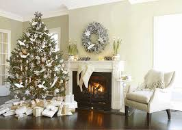 How To Decorate A Small House by Decorating A Small House For Christmas Square Light Brown Wooden