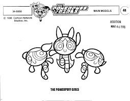 model sheet monday powerpuff girls dexter u0027s lab u2013 animation insider