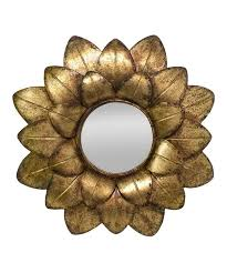 gold metal bamboo bathroom mirrors look what i found on zulily