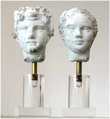 romulus u0026 rhea greek god statues pr sculptures on lucite acrylic