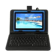 android tablets with keyboards china factory 7 inch android tablet with keyboard blue