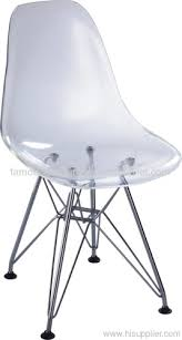 Clear Acrylic Dining Chairs Clear Acrylic Steel Legs Eames Dsr Baby Dining Chairs Manufacturer
