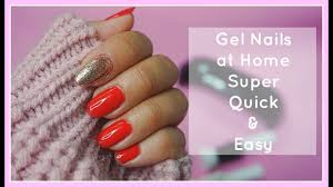 how to do gel nails at home using geltouch youtube