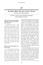 scoring best on all life u0027s tests from book how the best handle stre u2026